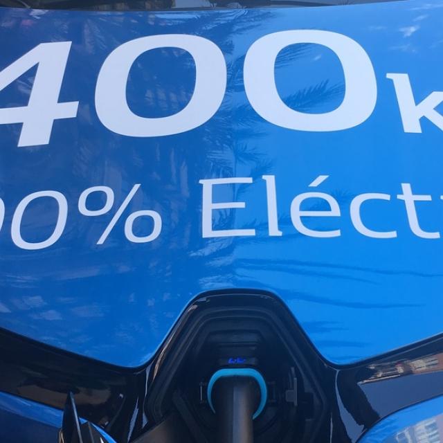 100% Vehículo eléctrico